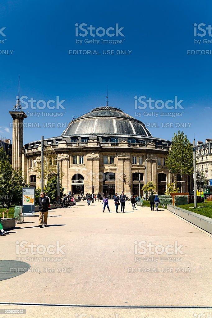 Bourse du Commerce in Paris stock photo