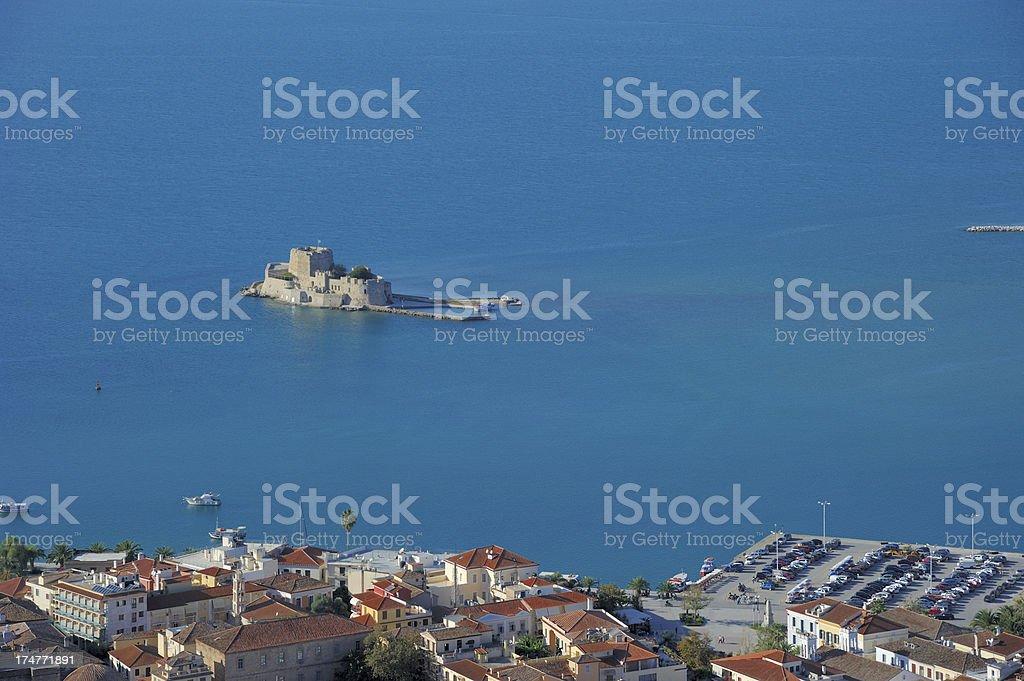 Bourtzi Fortress Nafplio stock photo