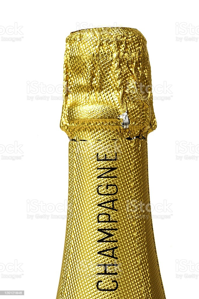 bouteille de Champagne royalty-free stock photo