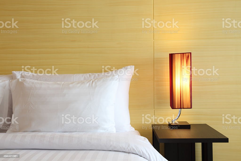 Boutique hotel bedroom royalty-free stock photo
