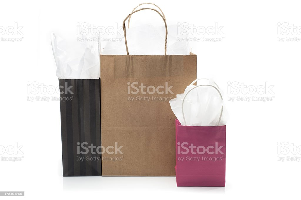 Boutique Shopping Bags royalty-free stock photo