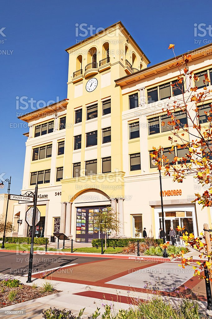 Boutique Shopps at the Plaza royalty-free stock photo