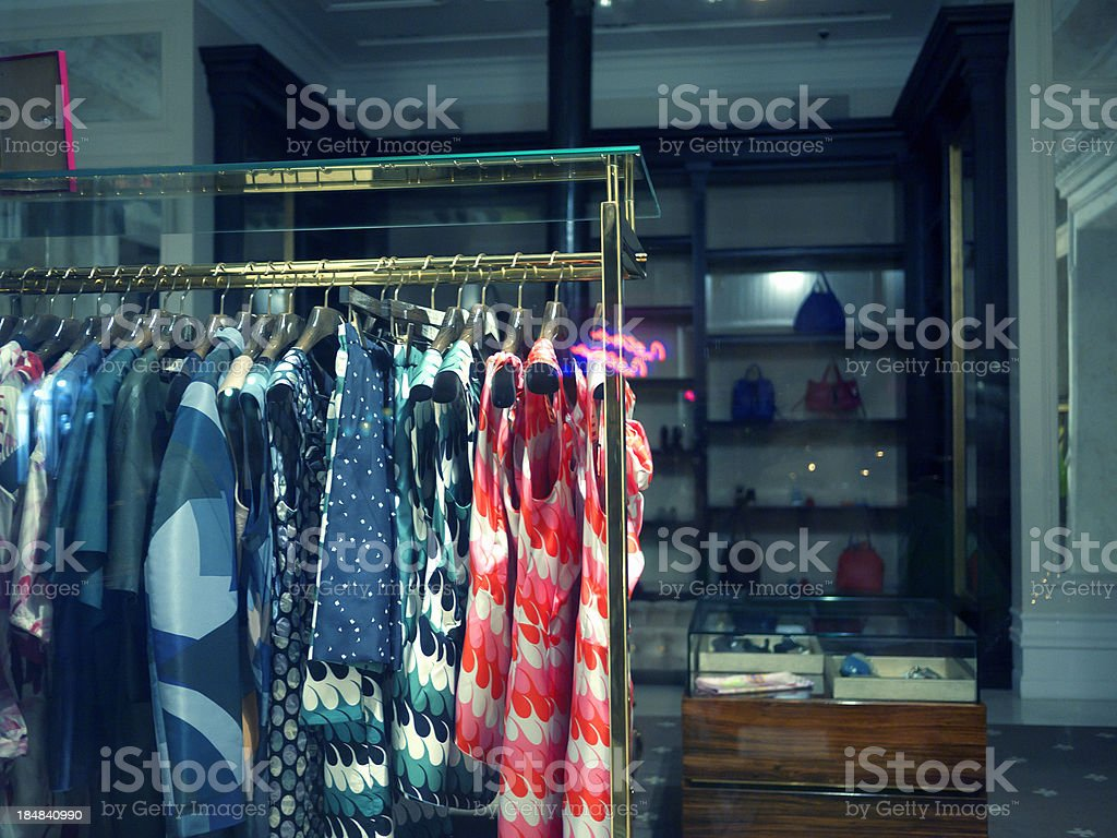 boutique show-window royalty-free stock photo