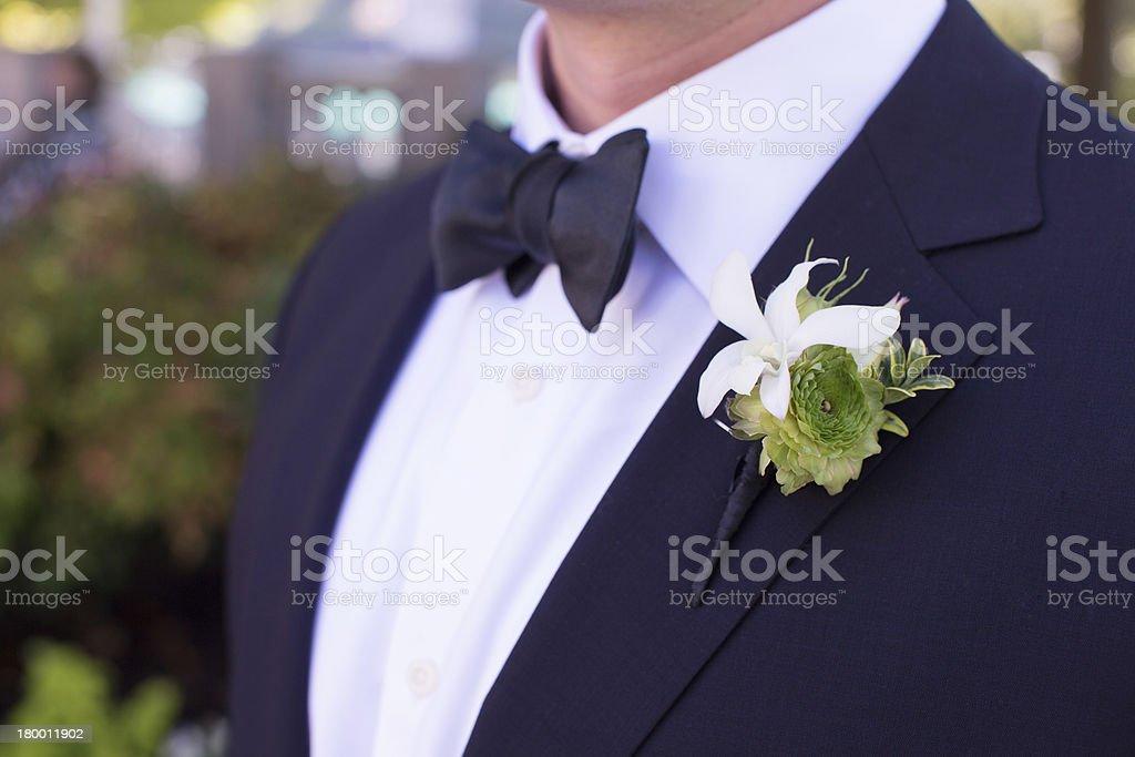 Boutonniere stock photo