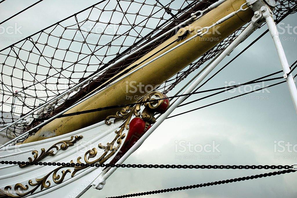 Bow Ship stock photo