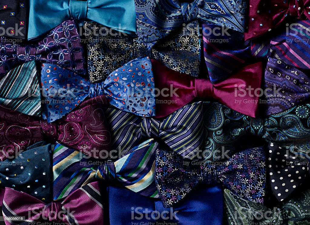bow ties stock photo