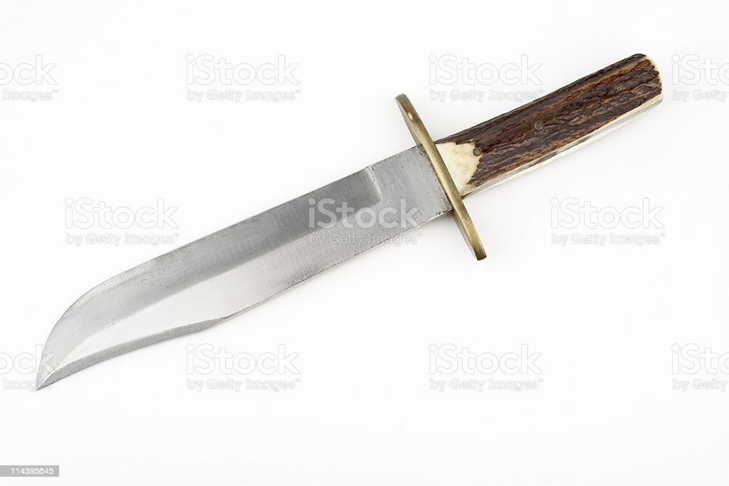 Bowie Type Knife royalty-free stock photo