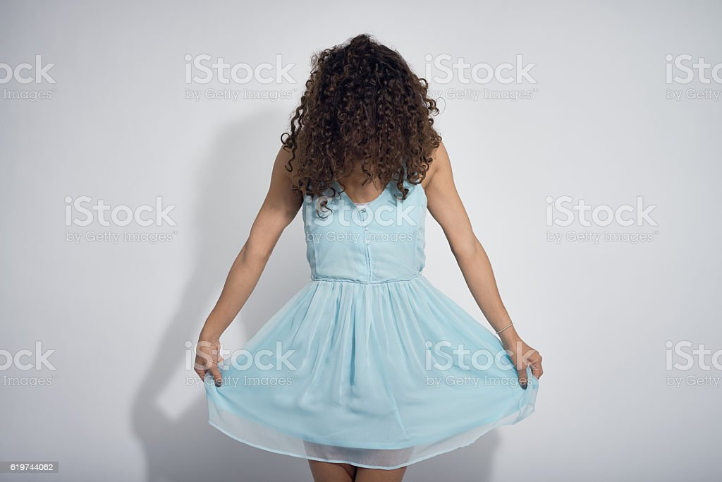 Bowing to the Audience stock photo