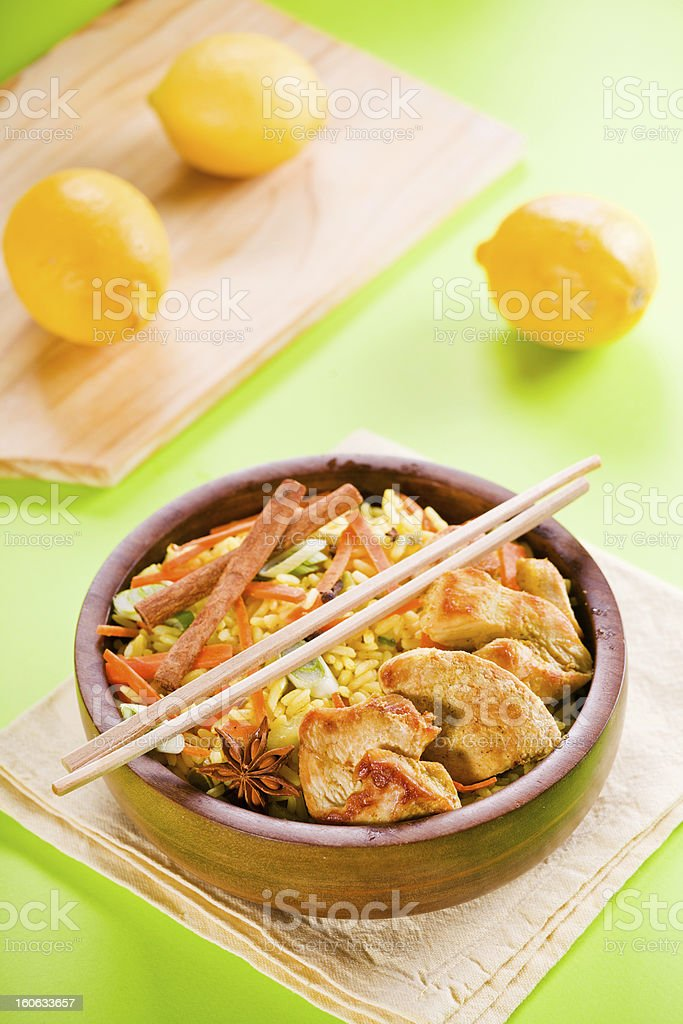 Bowl Of Curry royalty-free stock photo