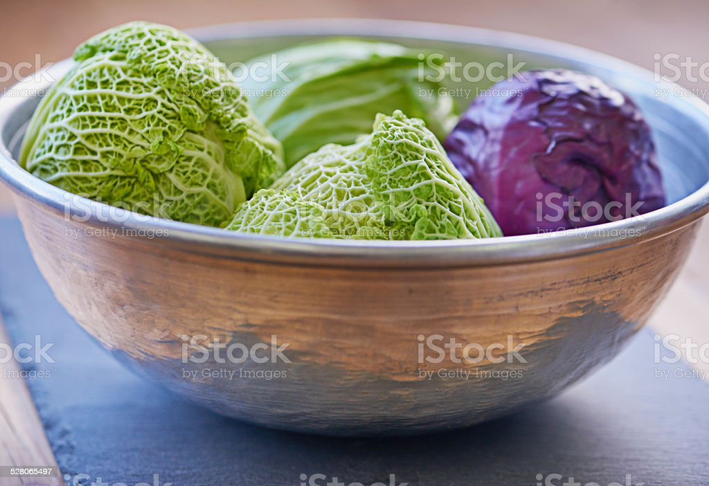 Bowl of delicious produce stock photo
