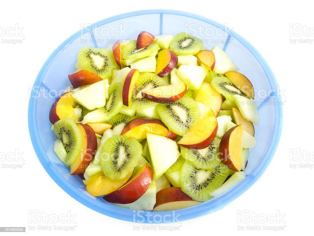 Bowl of fruits royalty-free stock photo