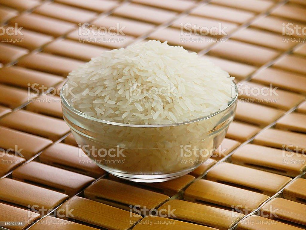 Bowl of Rice royalty-free stock photo