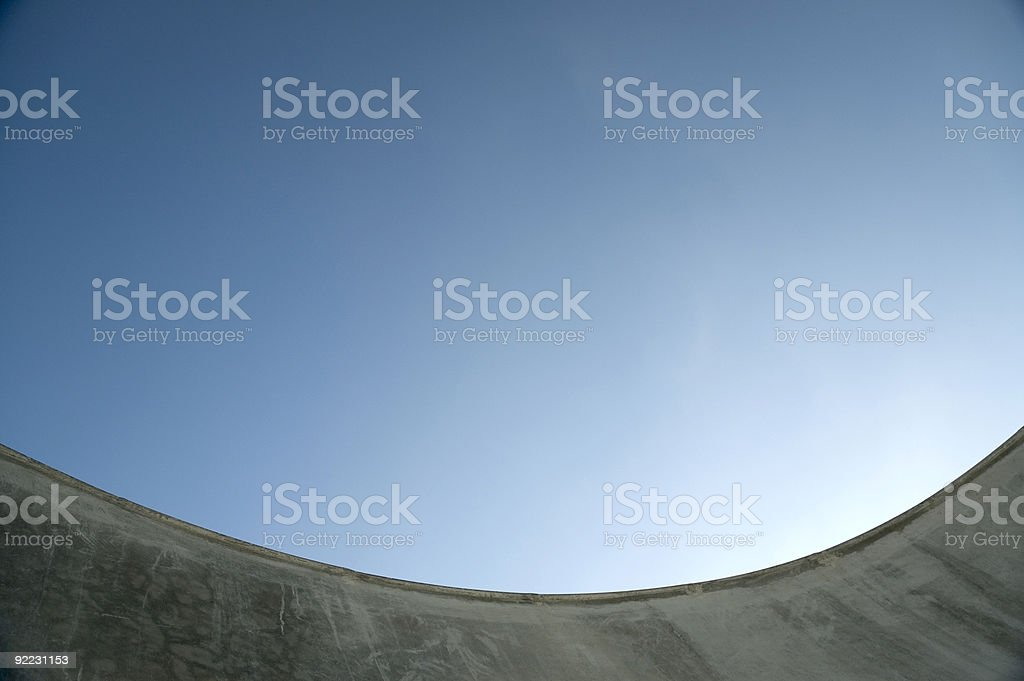 Bowl - Skatepark2 royalty-free stock photo