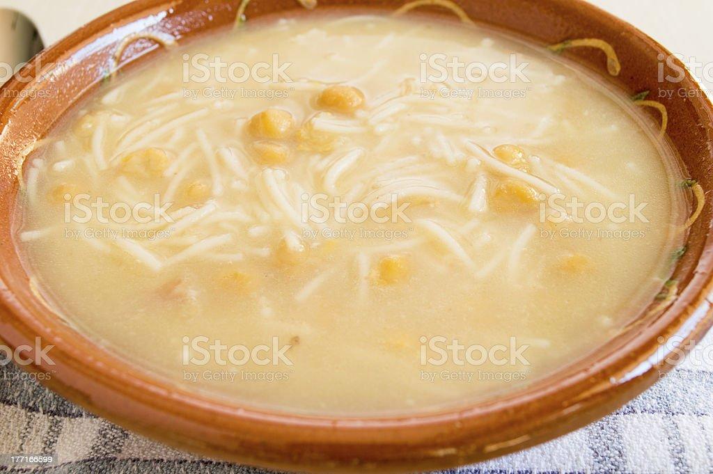 Bowl soup royalty-free stock photo