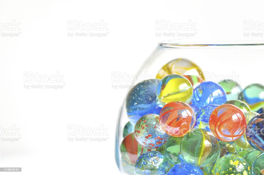 bowl with marble stock photo