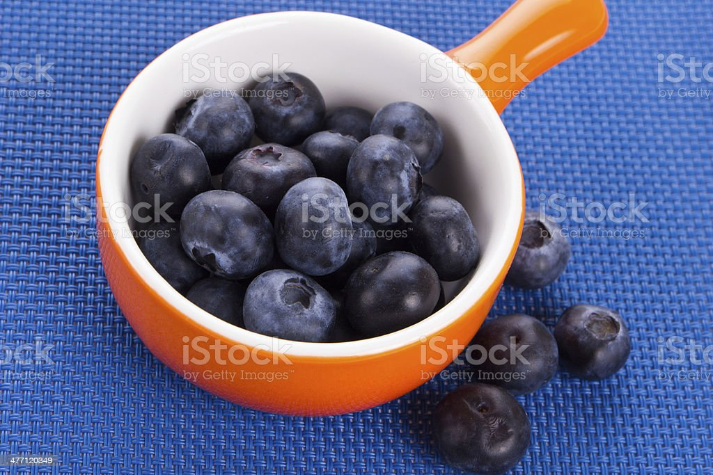 Bowl with sweet berries royalty-free stock photo