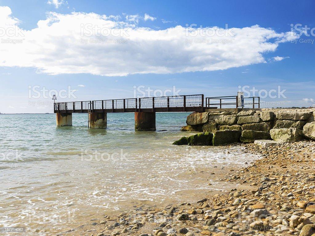 Bowleaze Cove Dorset-Angleterre photo libre de droits