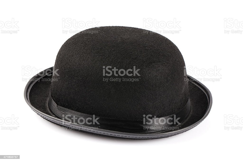 Bowler hat royalty-free stock photo