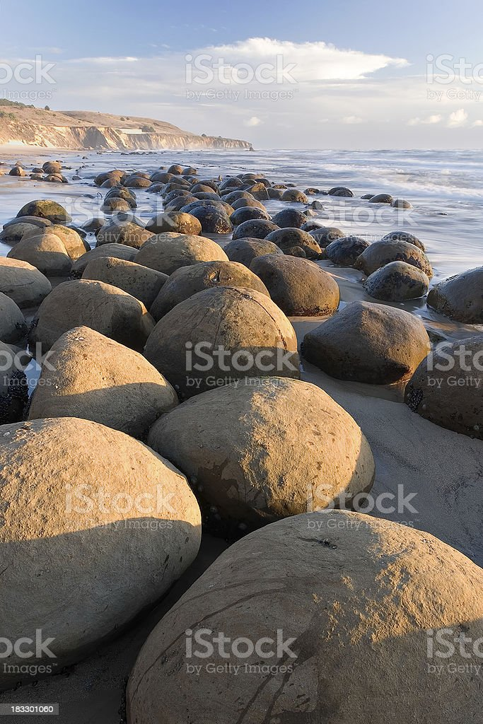 Bowling Ball Beach royalty-free stock photo