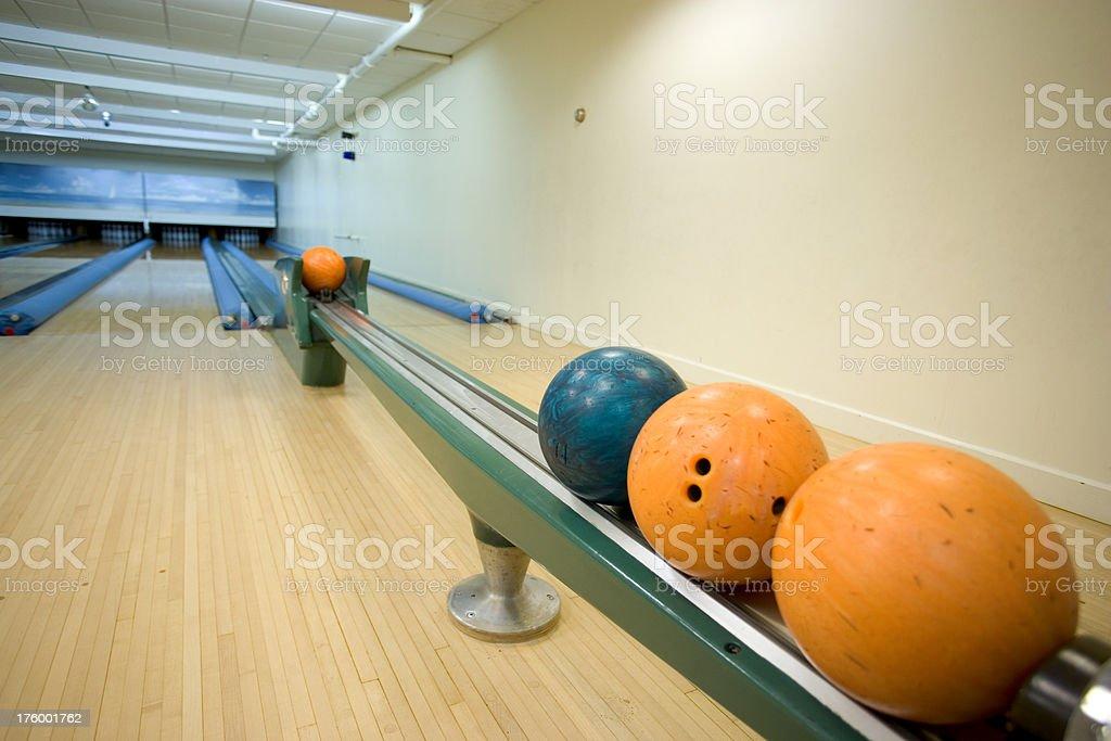 Bowling Balls royalty-free stock photo