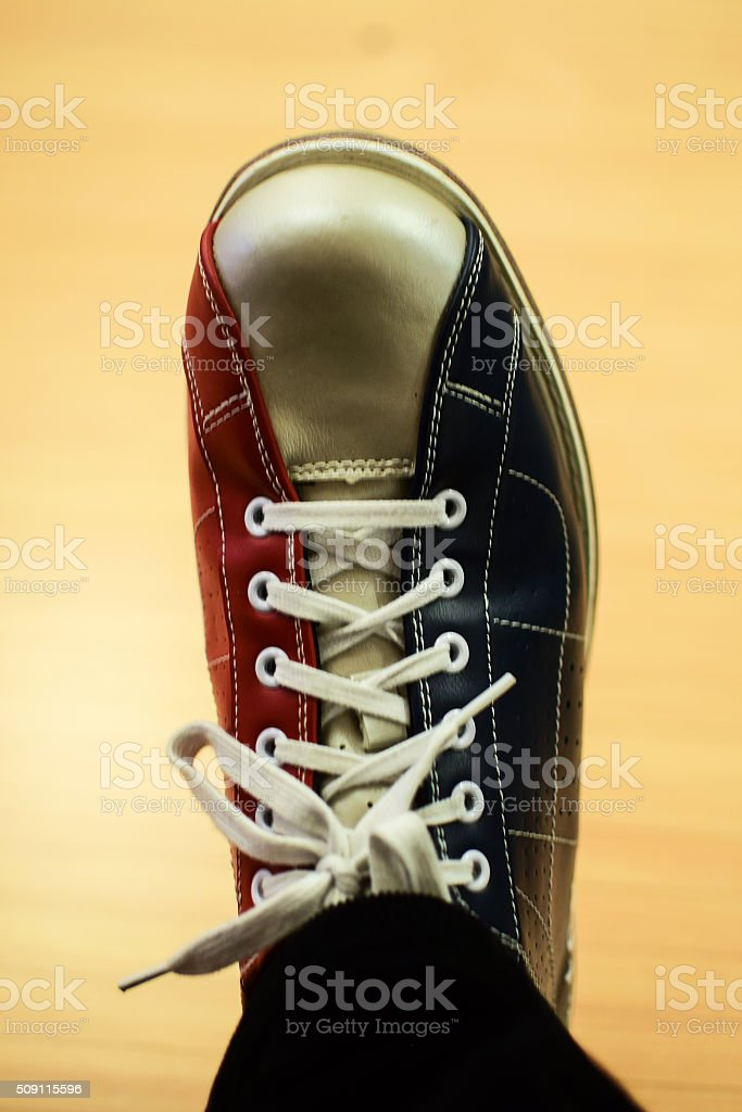 Bowling boot stock photo
