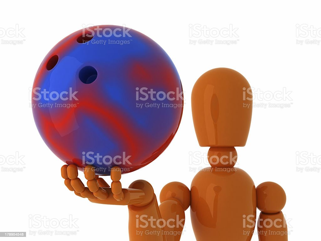 Bowling for you. royalty-free stock photo