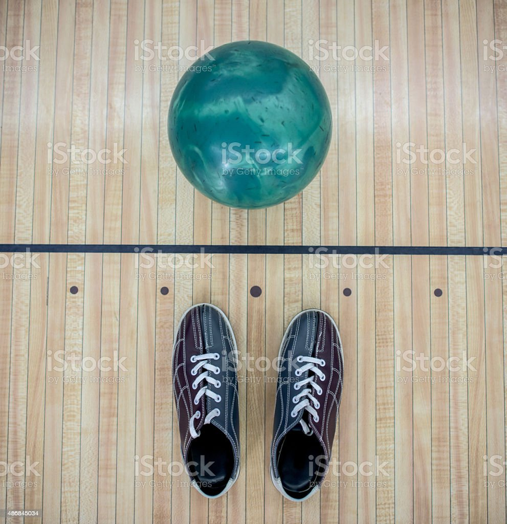 Bowling kit stock photo