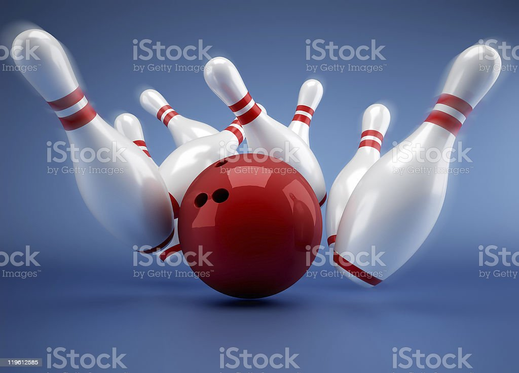 Bowling royalty-free stock photo