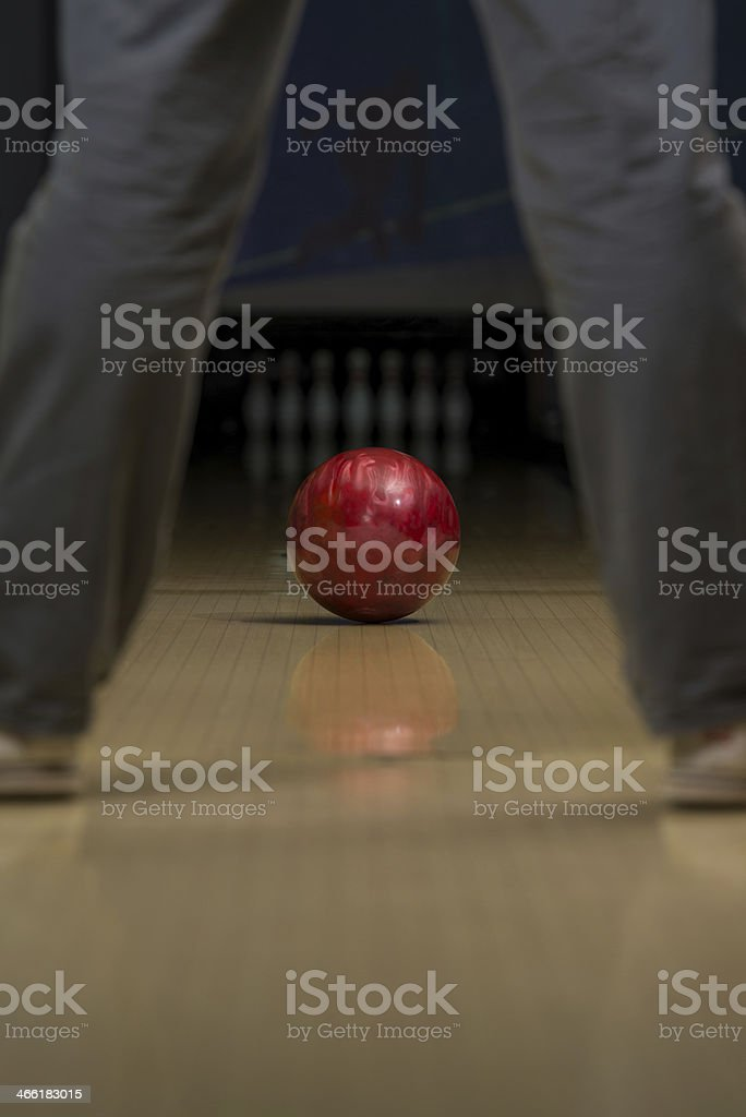 Bowling Shoot stock photo