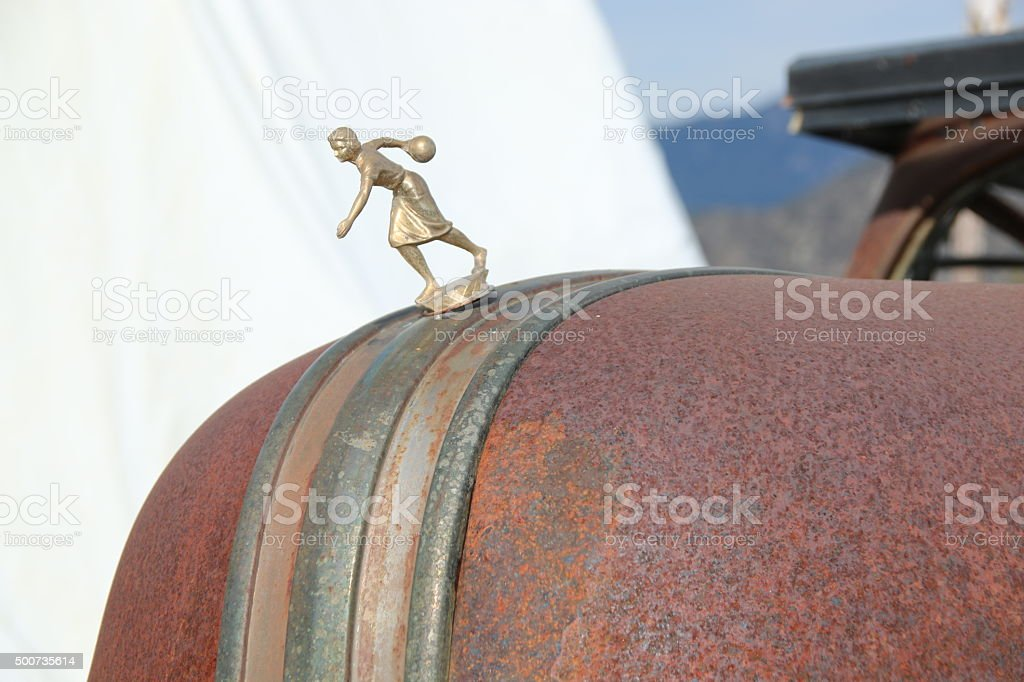 Bowling Trophy stock photo