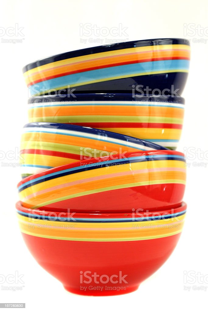 Bowls. stock photo