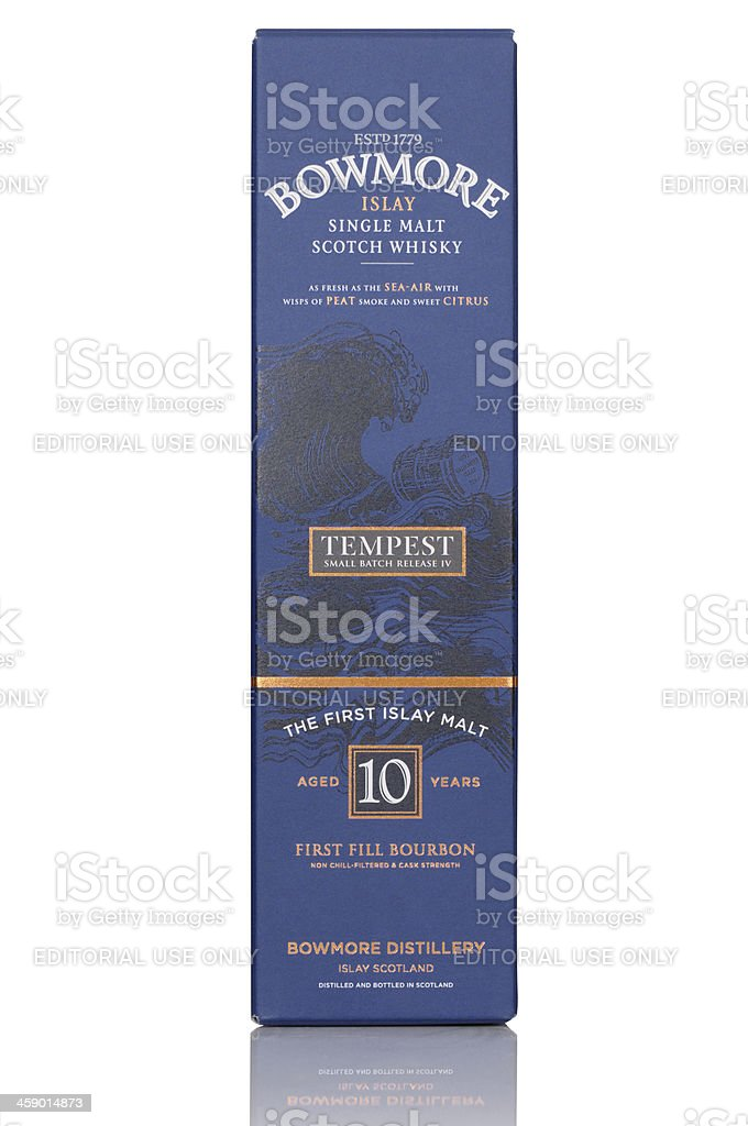 Bowmore Tempest stock photo