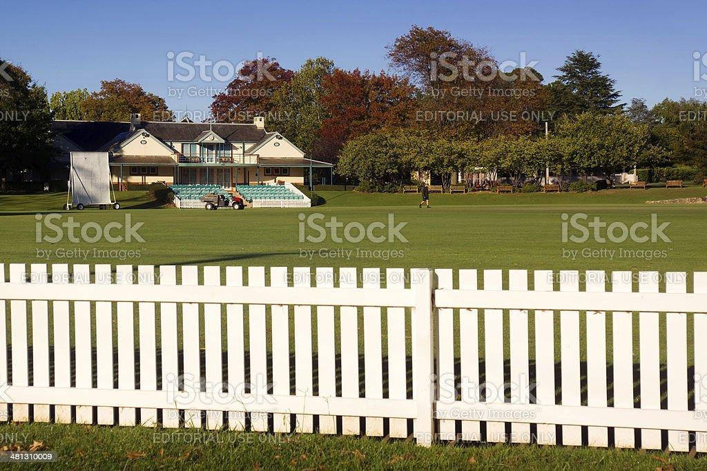 Bowral - Bradman Oval stock photo