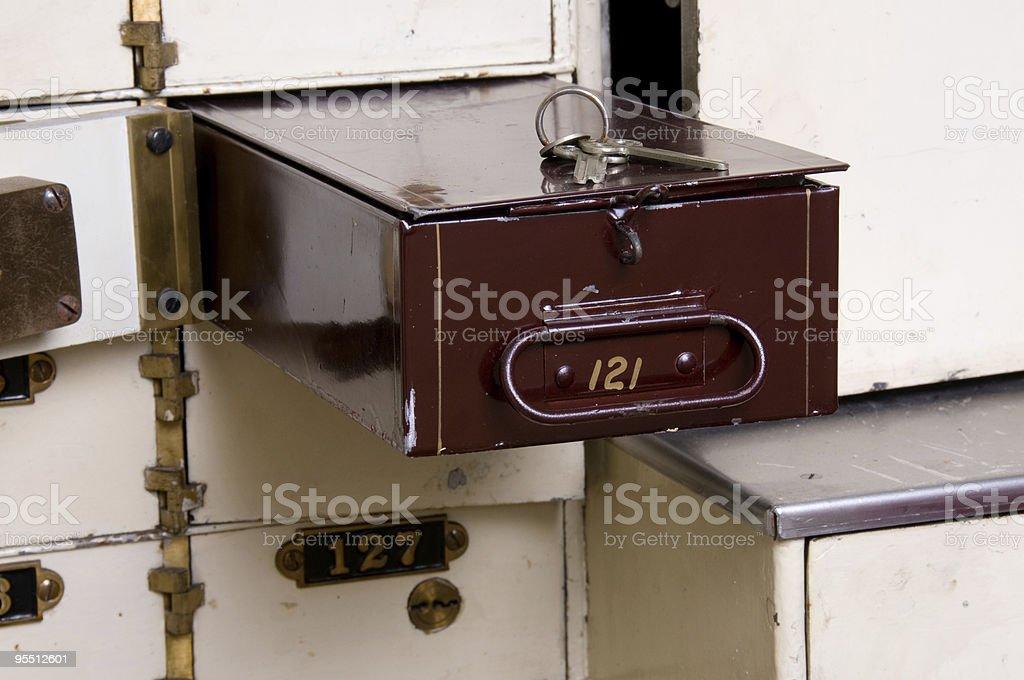 Box 121 royalty-free stock photo
