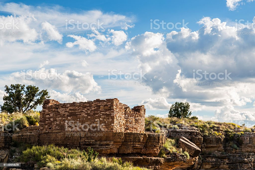 Box Canyon Ruin stock photo