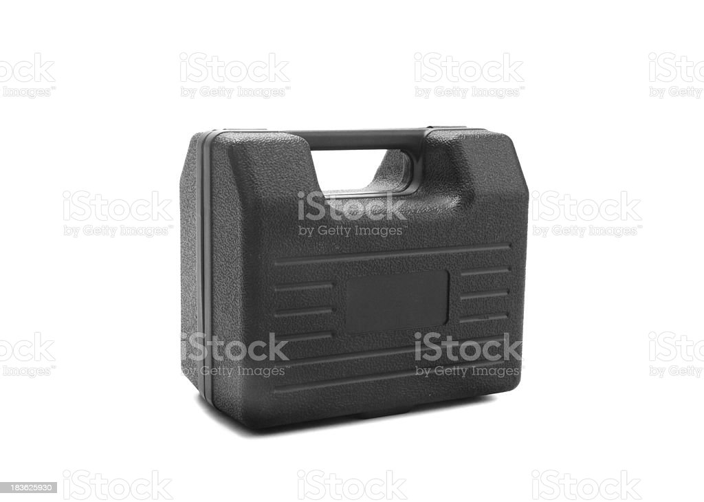 Box for tools. Isolated object on a white background royalty-free stock photo
