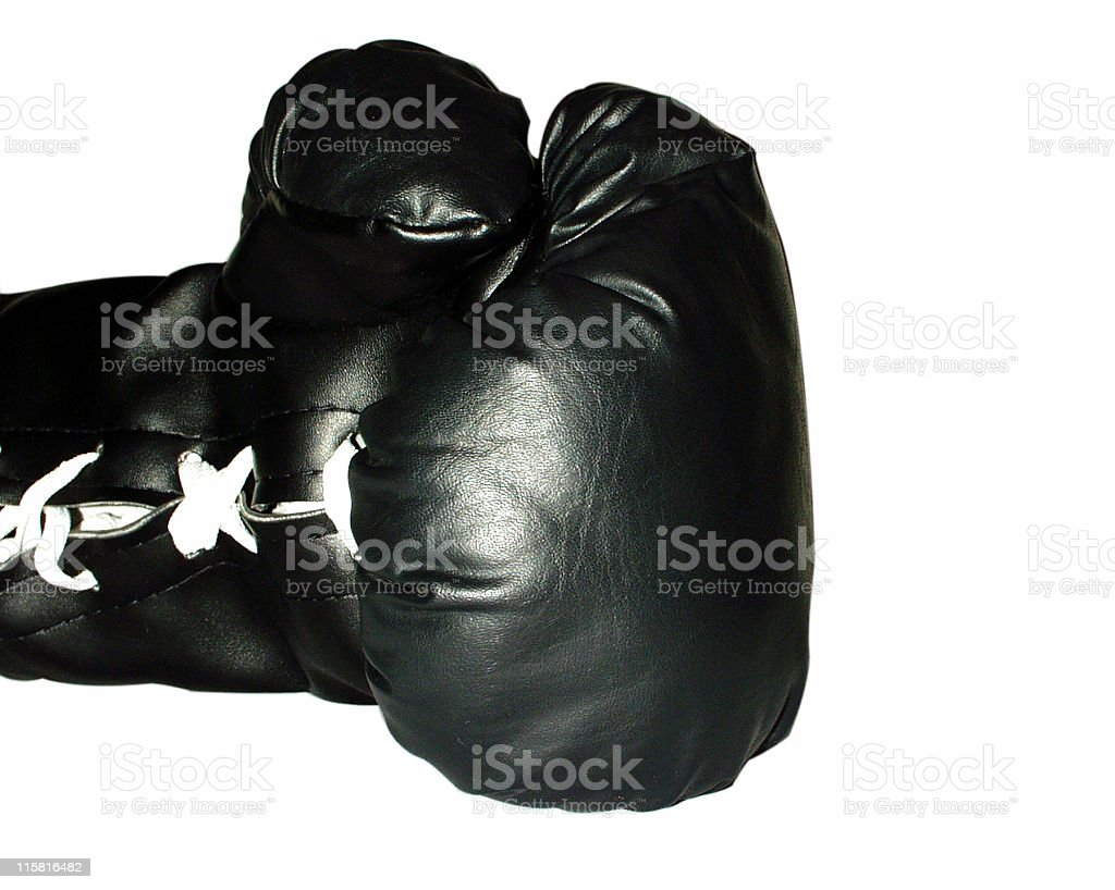 Box Glove royalty-free stock photo
