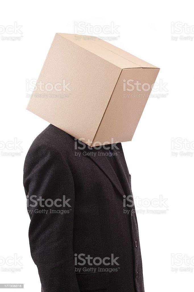 Box Head stock photo