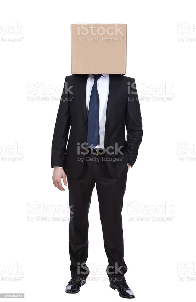 box head royalty-free stock photo