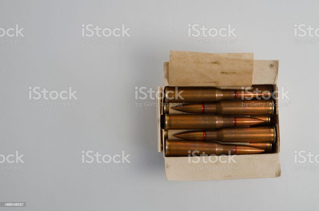 Box of Ammo stock photo