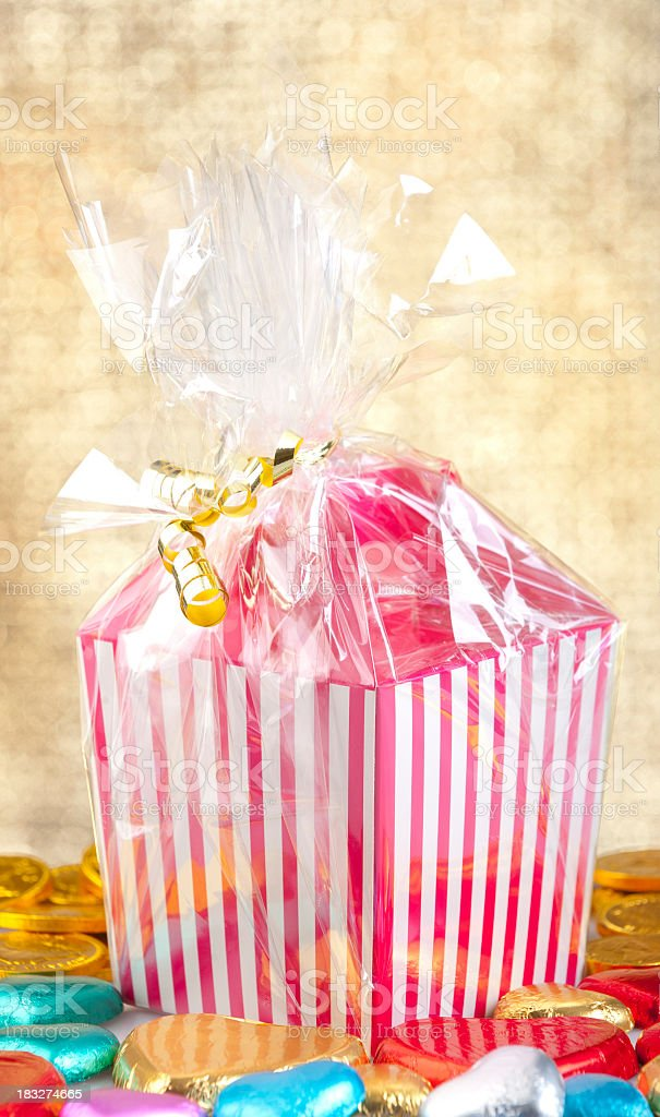 Box of candy royalty-free stock photo