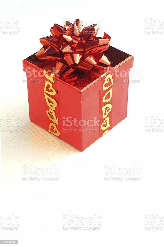 Box of love stock photo