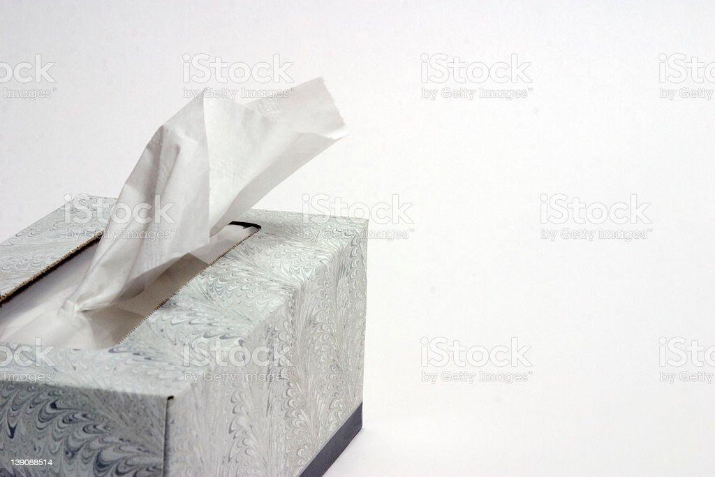 Box of Tissue royalty-free stock photo