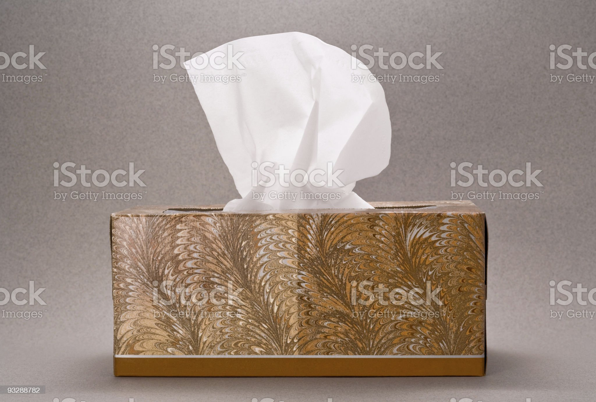 Box of Tissue royalty-free stock photo