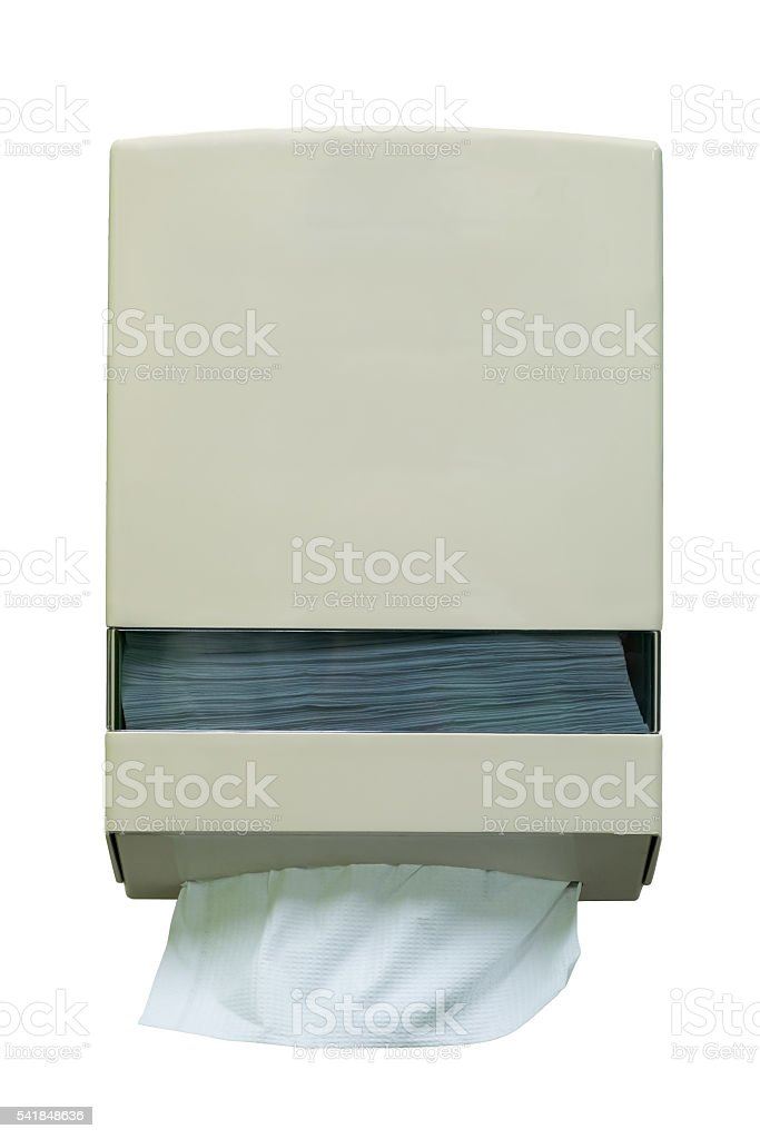 Box of tissues stock photo