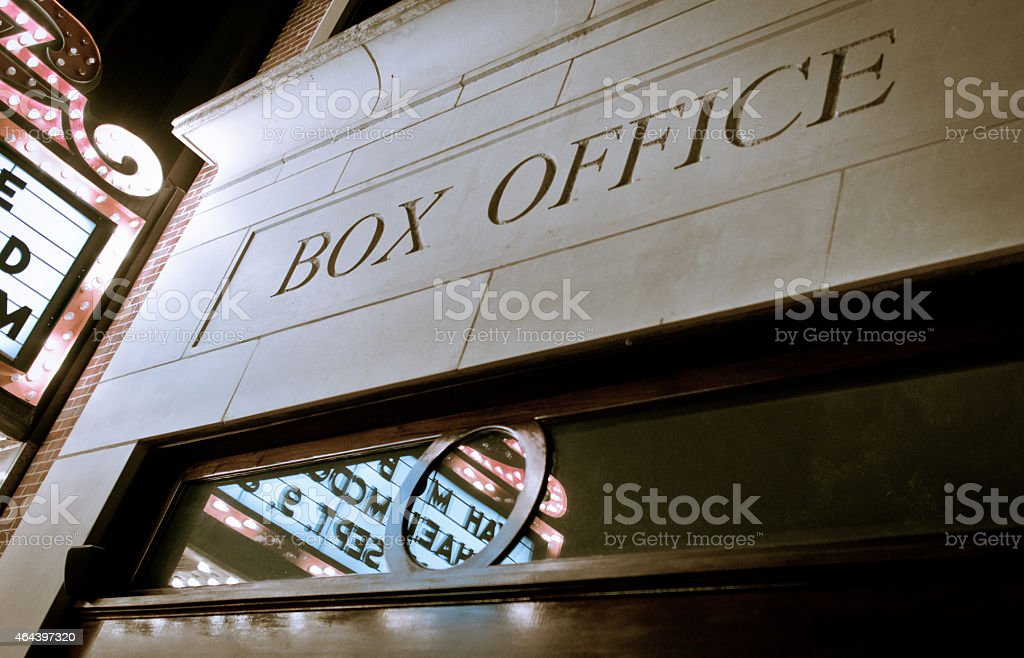 Box Office stock photo