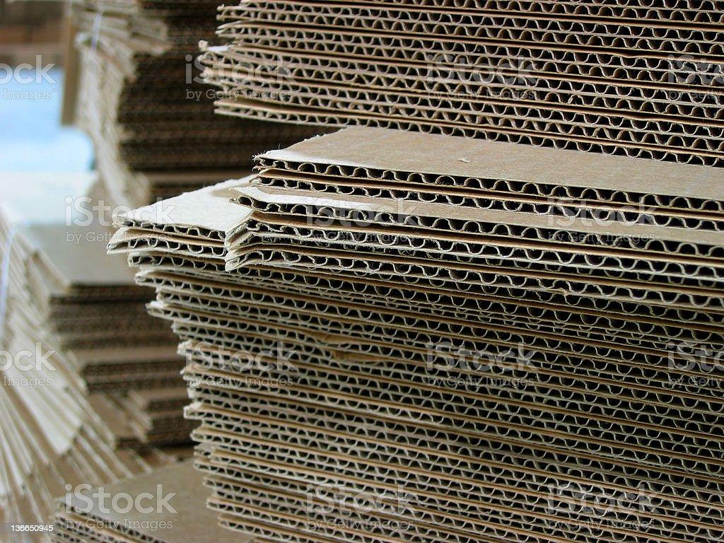 Box Stacks stock photo