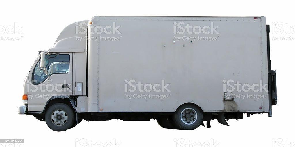 Box truck royalty-free stock photo