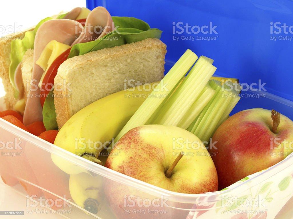 Box with vitamins royalty-free stock photo
