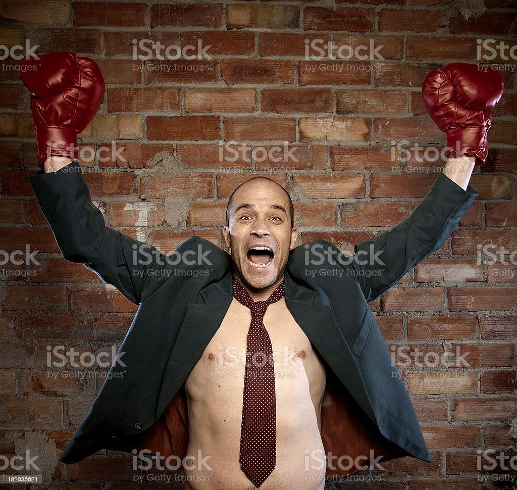 Boxer Business stock photo